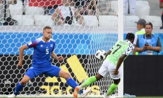Musa's second goal vs Iceland shortlisted for Goal of the Tournament