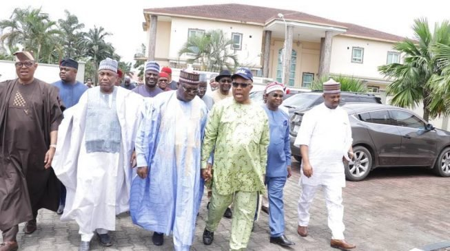 Akpabio's entry has swallowed defections from APC, says Lawan