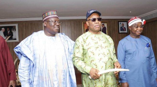 Akpabio joins APC, says 'EFCC found nothing on me'