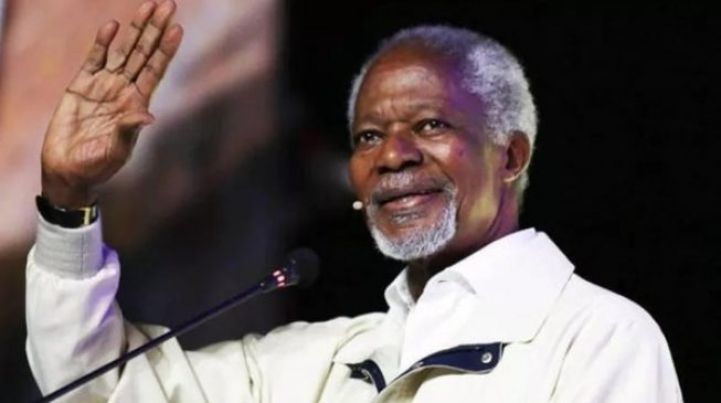 Kofi Annan's humility and love for humanity set him apart, says Buhari