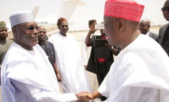 Atiku: Buhari used Eagle Square to declare for president — denying Kwankwaso unfortunate
