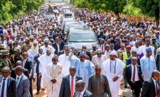 Why Buhari's '800m walk' makes both his health and age legitimate campaign issues