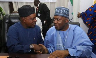 'Please, accept us from the bottom of your hearts' — Saraki begs PDP leaders