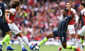 EPL Sunday: Mane shines in Liverpool win as Man City beat Arsenal 2-0