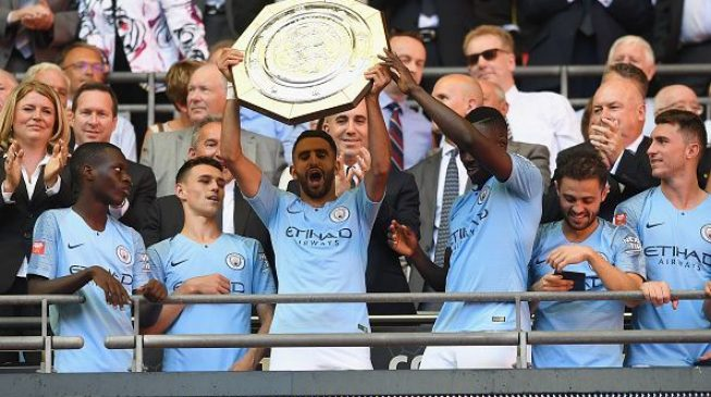 Moses makes cameo as City beat Chelsea to win Community Shield