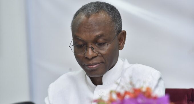 El-rufai tests positive for coronavirus