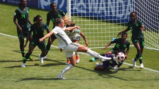 France 2018: Germany pip hard fighting Falconets