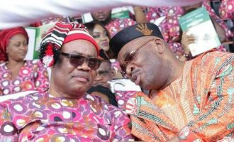 How Akpabio predicted another term for Udom Emmanuel