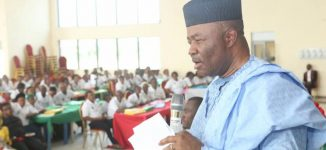 'I choose to remain a minister' — Akpabio pulls out of senatorial rerun