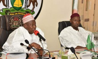 I appealed for you not to be impeached, Ganduje tells ex-deputy