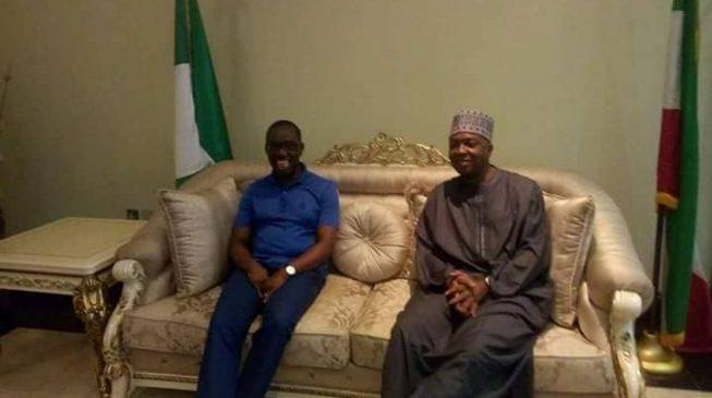 PHOTOS: Saraki visits Okowa in Delta
