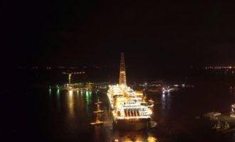 PHOTOS: Egina FPSO sails to OML 130