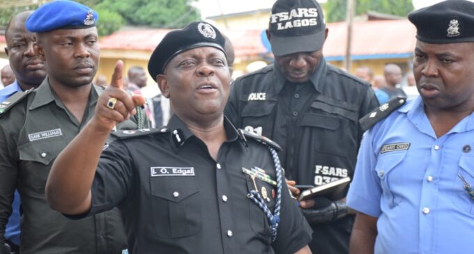 Drama as Lagos CP fails to hand over to new man