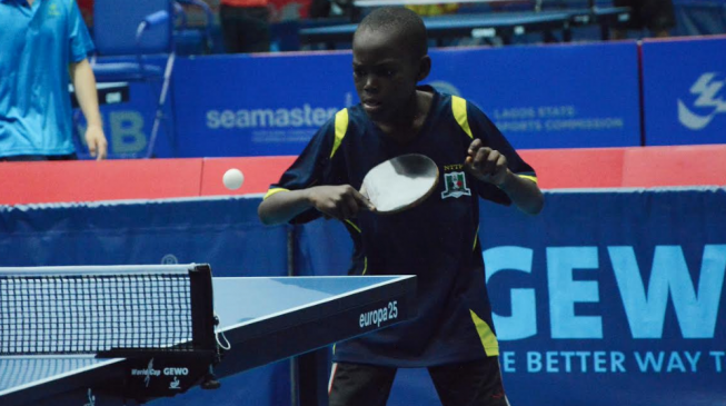 I'll win Nigeria Open in future, says youngest player at ITTF Challenge