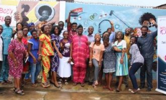 Onelife Initiative unveils 'safe space wall' to commemorate International Youth Day