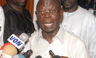 Minister: Some governors are demanding removal of Oshiomhole
