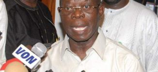 Oshiomhole: There won't be any governor in Bayelsa from tomorrow