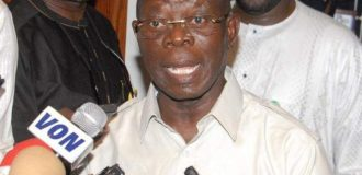 Oshiomhole: I didn't attend Ize-Iyamu's defection rally because IGP wanted to set me up
