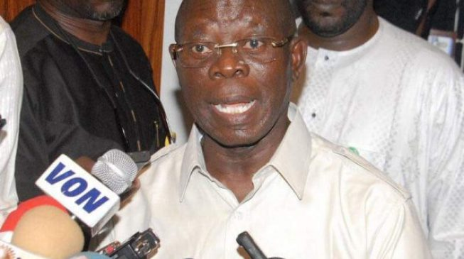 Oshiomhole: Obaseki fired the only commissioner I nominated