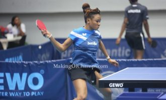 Oshonaike makes history, qualifies for 7th Olympics