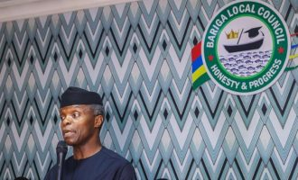 Osinbajo replies reps: Approval of N5.8bn intervention fund within my constitutional authority