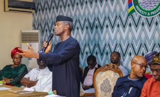 EXTRA: Even Atiku knows that his money will be safe with Buhari, says Osinbajo