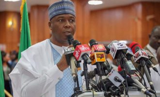 Saraki: If I had skeleton in my cupboard, this govt would have silenced me