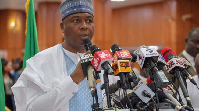 Saraki: It's time to replace this outdated government
