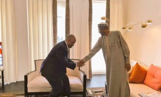 Akpabio meets Buhari in London — to seal APC 'transfer'?