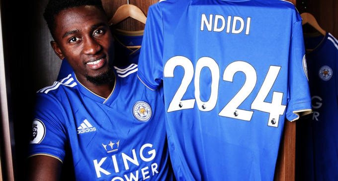 Ndidi extends Leicester contract