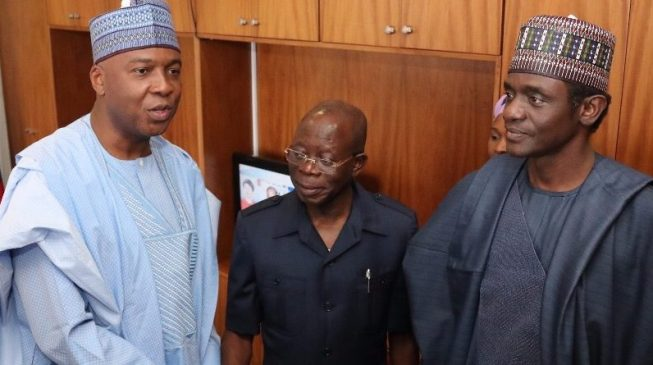 Defection: Oshiomhole asks Saraki to step down