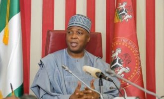 Saraki 'not bothered' about withdrawal of international appointment