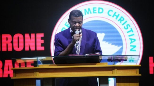 Adeboye to Fatoyinbo: You'll be exposed if you continue sinning under 'grace'