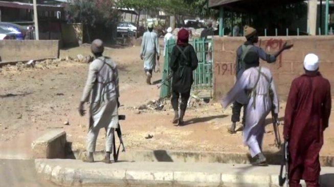 'Many houses' on fire as Boko Haram hits Chibok