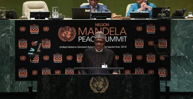 Buhari addresses world leaders at UN general assembly