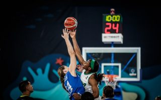 Action images from D'Tigress clash with Greece