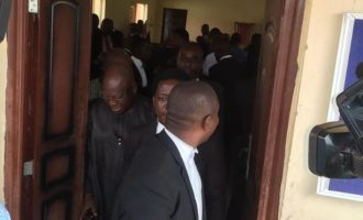 Ekiti tribunal: PDP witness claims different signatures as another disowns exhibit