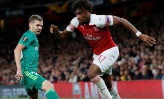 Iwobi up against Cech, Lacazette for Arsenal's player of the month award