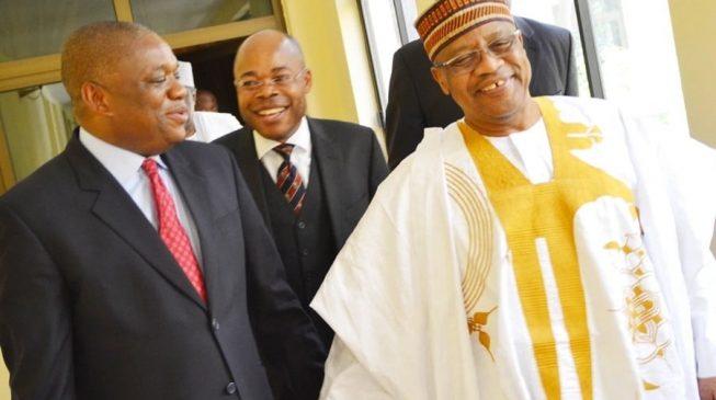 Orji Kalu 'begs' Babangida to support Buhari's re-election bid