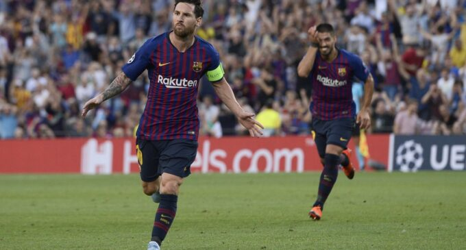 UCL: Messi opens with hat trick, late Firmino winner for Liverpool