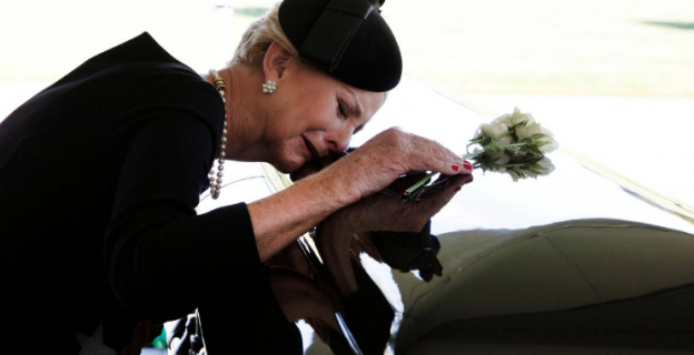 John McCain laid to rest beside his best friend