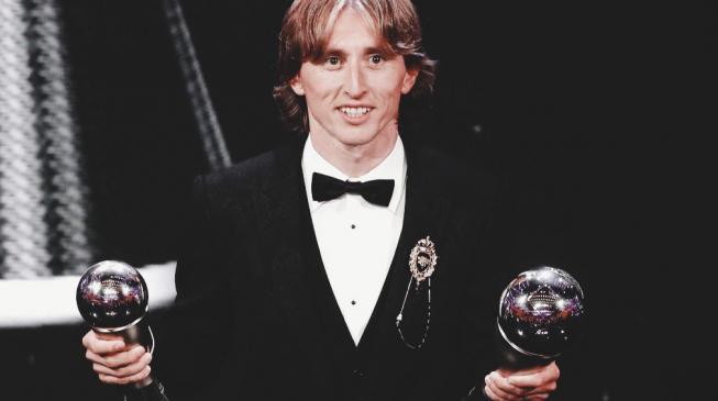 Luka Modric, the undisputed world's best player