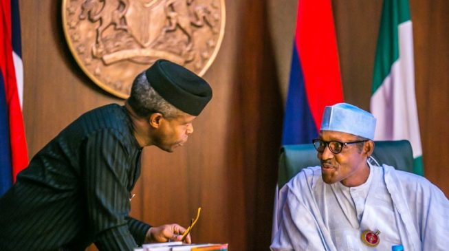 EXCLUSIVE: Buhari directs Osinbajo to seek approvals for agencies under him