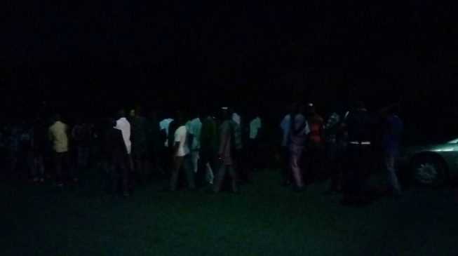 PDP supporters storm INEC office at 2am