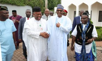 Akpabio: My heart was with Buhari in 2015 election
