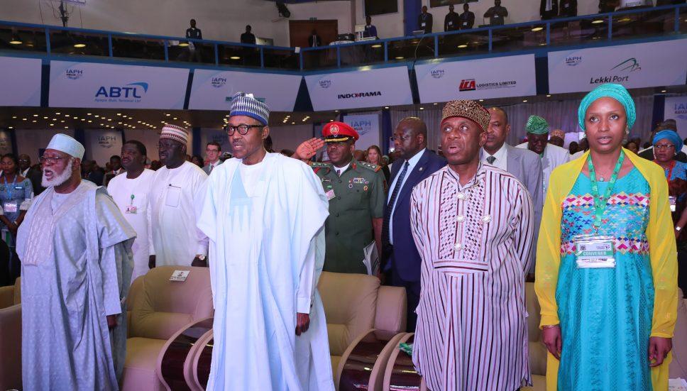 Buhari declares open 2018 African Maritime conference