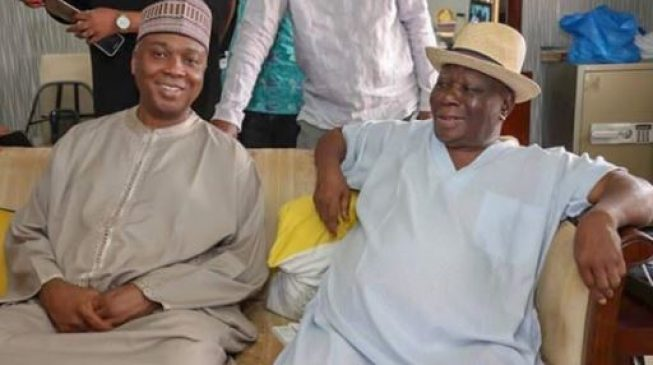'Threat to democracy' — Saraki speaks on police invasion of Edwin Clark's home