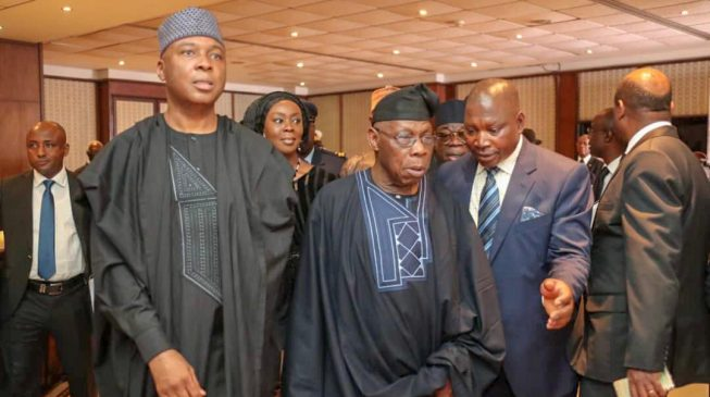 Saraki, Obasanjo join world leaders at Kofi Annan's funeral