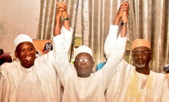 Shekarau meets Oshiomhole, Ganduje, confirms exit from PDP