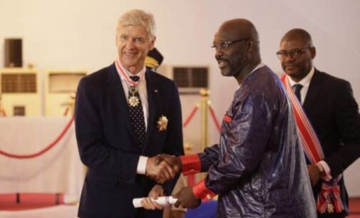 Liberian honour for the most honourable man on planet earth